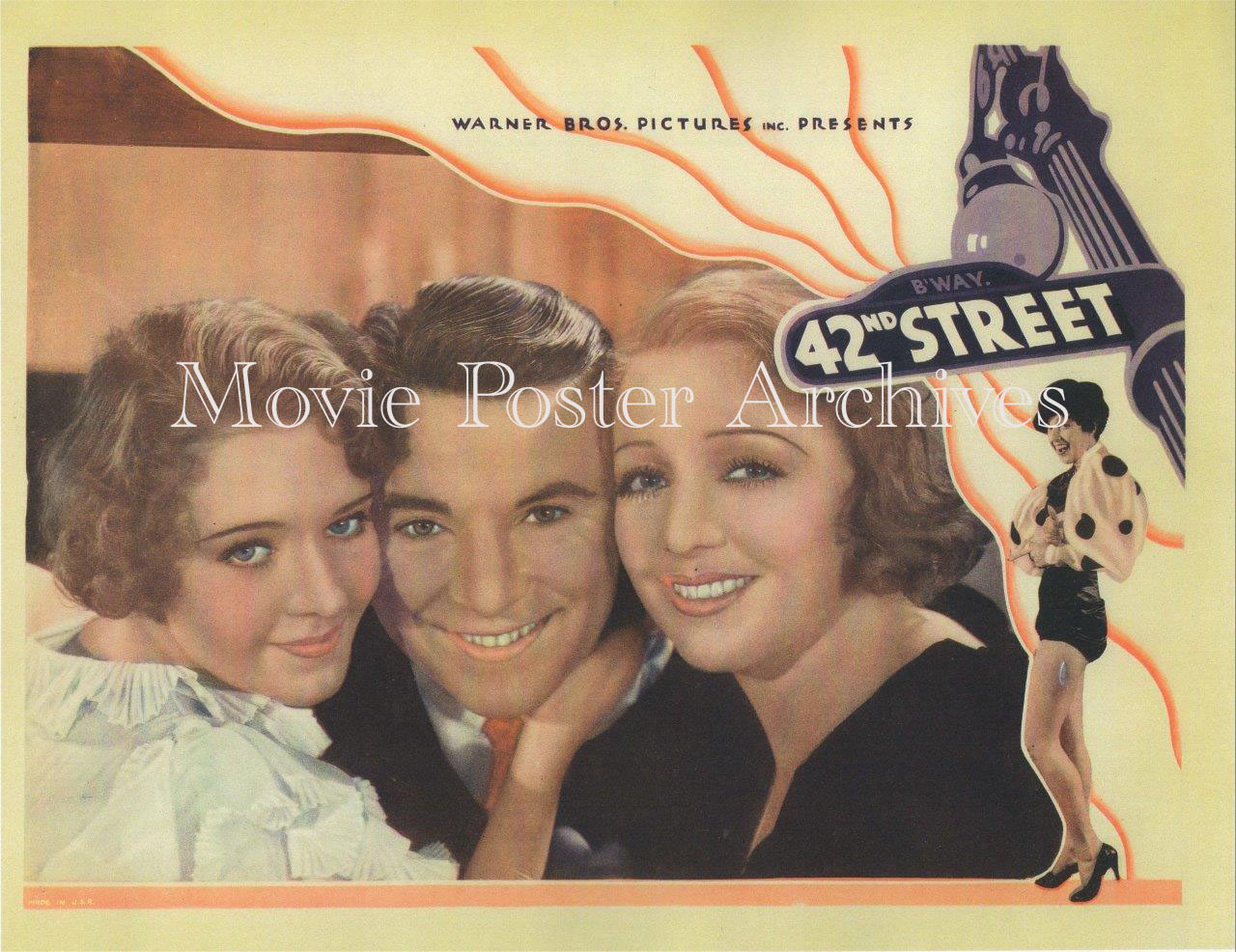 42ndStreet-1933-Repro-LC