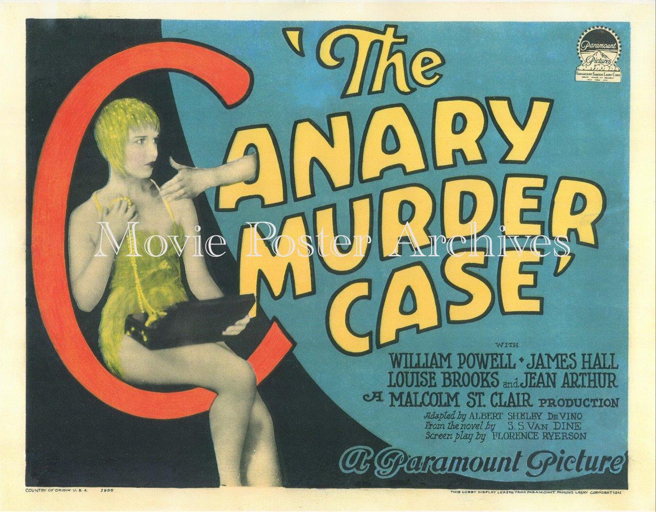 CanaryMurderCase-1929-Repro-TC