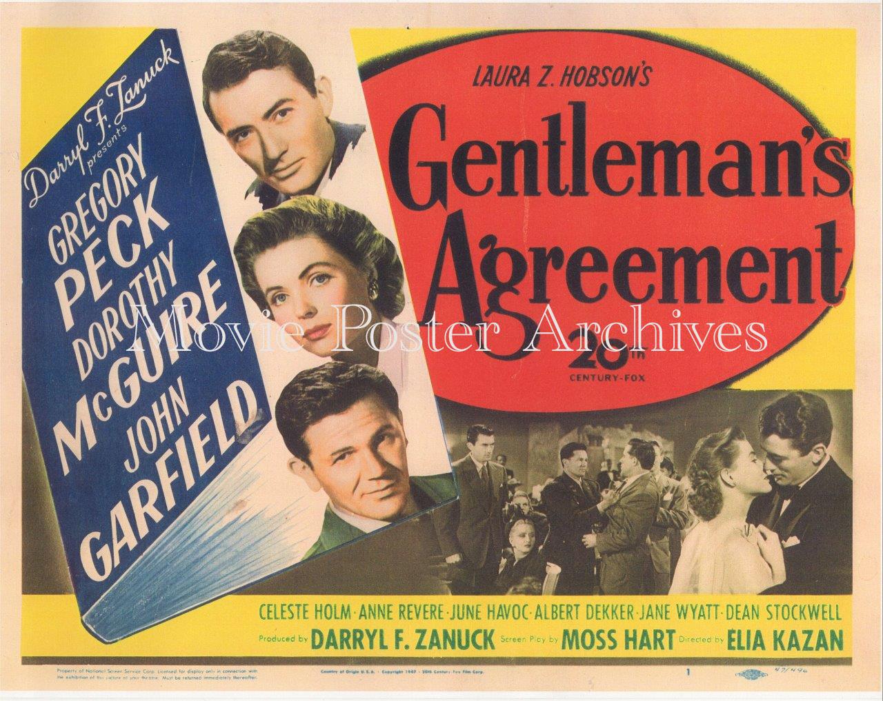 GentlemanAgreement-1947-Repro-TC