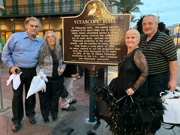 Vitascope Hall Historic Marker