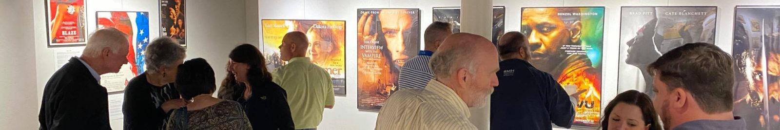 Backdrop Louisiana! movie poster exhibit in Slidell, Louisiana