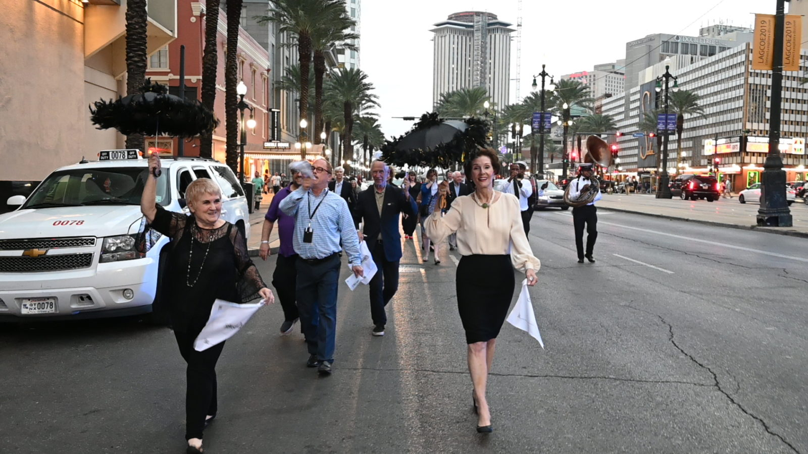 Canal Street Second Line